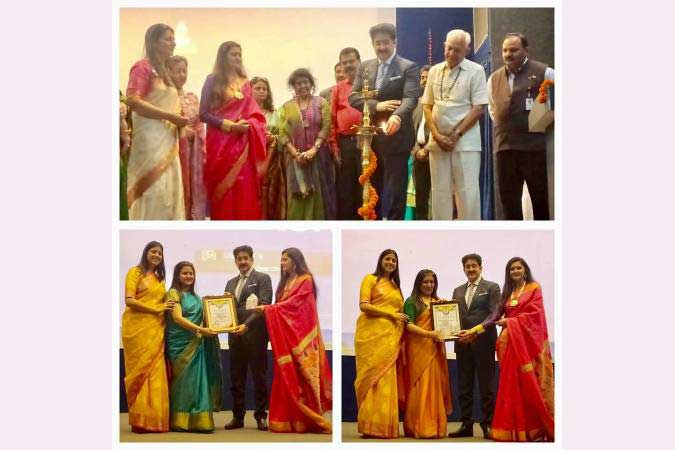 Sandeep Marwah Presented Women's Award at Faridabad Club April 10, 2019