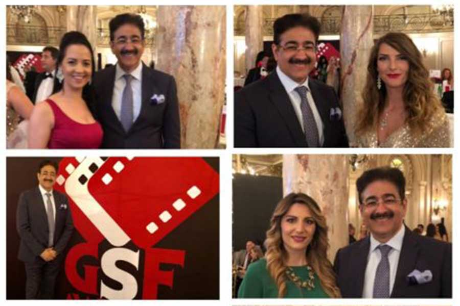Sandeep Marwah Attracted Film Makers at Cannes Film Festival