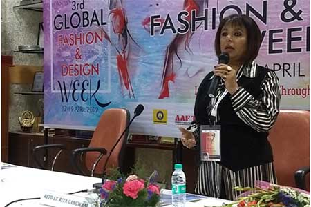 Motivational Speaker to talk about Success visits Marwah Studios