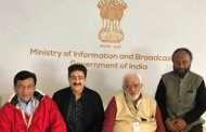 Sandeep Marwah At India Pavilion At Cannes Film Festival