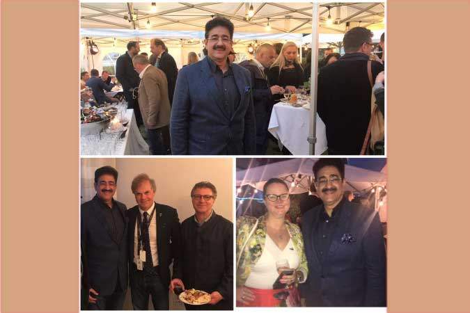 Sandeep Marwah Special Invitee at Netherlands Get Together