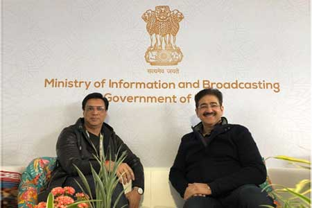 Raj Kapoor Will be Remembered For All Time -Sandeep Marwah June 5, 2019