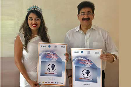 World No Tobacco Day Observed at Marwah Studios
