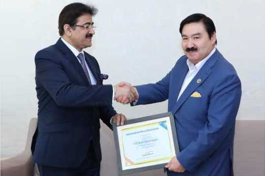 Sandeep Marwah Chair For Indo Kazakhstan Film And Cultural Forum