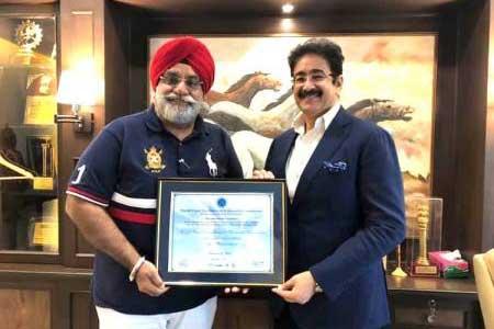 World Peace Foundation Nominates Amarjeet As Peace Ambassador