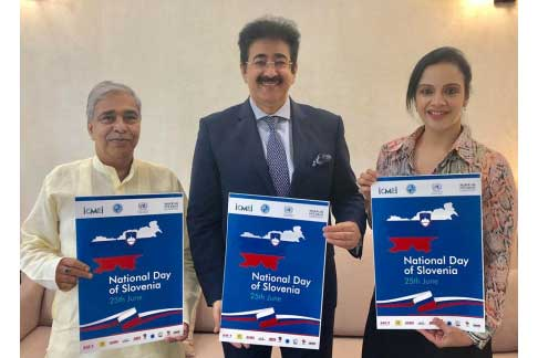 National Day of Slovenia Celebrated at Marwah Studios