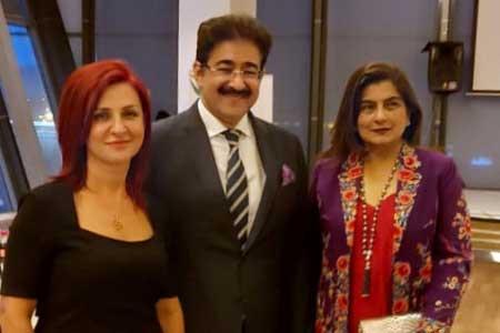 Sandeep Marwah In Azerbaijan to Promote Relations Through Arts