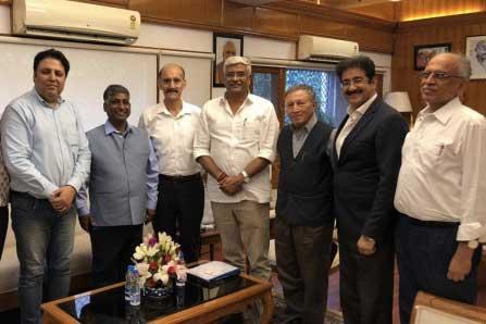 GCTC Delegation Met Union Cabinet Minister of Jal Shakti