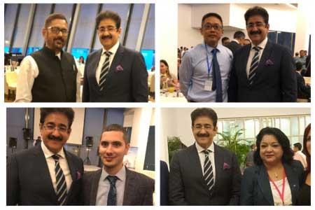 Sandeep Marwah Special Invitee at India Meet at Baku