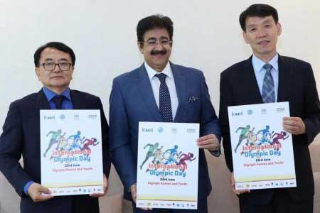 International Olympic Day Celebrated at AAFT University