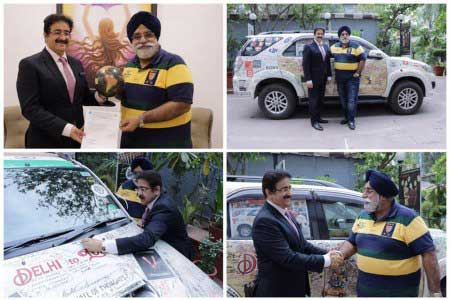 AAFT Supported Peace Drive by Amarjeet Singh
