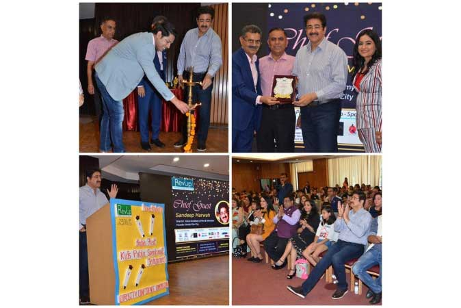 Public Speaking Is An Art- Should Be Part of Syllabus- Sandeep Marwah