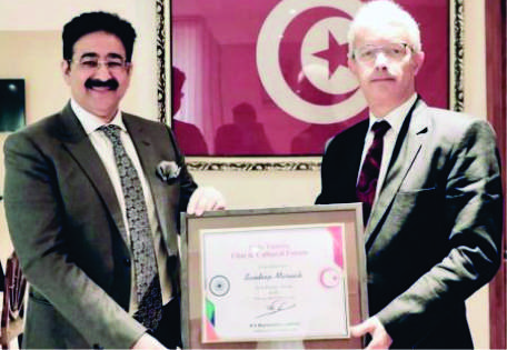 Sandeep Marwah Nominated Chair For Indo Tunisia Cultural Forum