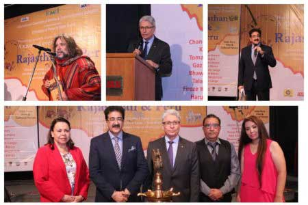 Sandeep Marwah Honored by Embassy of Peru In India