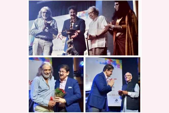 Sandeep Marwah Inaugurated Folk Festival in Delhi