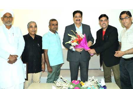 Sandeep Marwah Patron to International Business Chamber