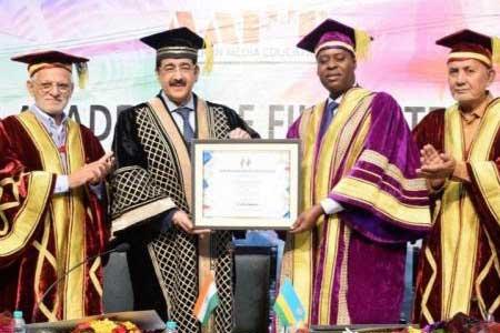 Sandeep Marwah Nominated Chair For Rwanda Cultural Forum