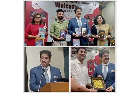 Sandeep Marwah Inaugurated Literary Carnival at IIC