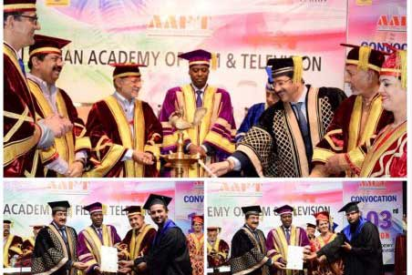 Convocation of 103rd Batch of AAFT