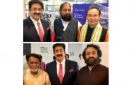 Sandeep Marwah Special Guest at Korean Exhibition