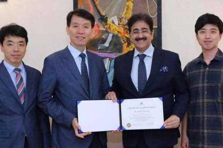 Korean Delegation Nominated Marwah As International Advisor