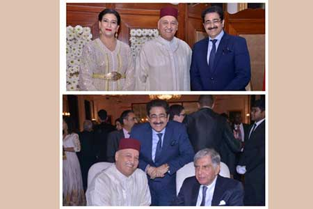 Sandeep Marwah Special Guest At Moroccan National Day