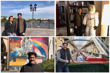 Sandeep Marwah Chair For IRFCF Visited Moscow