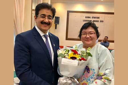Sandeep Marwah Welcomed by Ministry of Communication In Malaysia