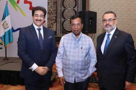Sandeep Marwah Special Guest At National Day of Guatemala