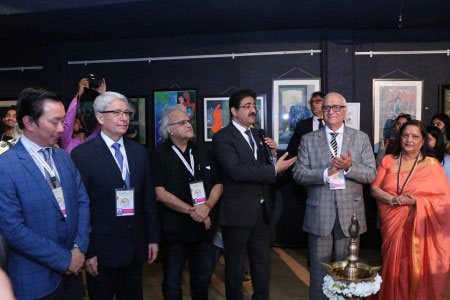 An Exhibition of Paintings Inaugurated at 5th GLFN
