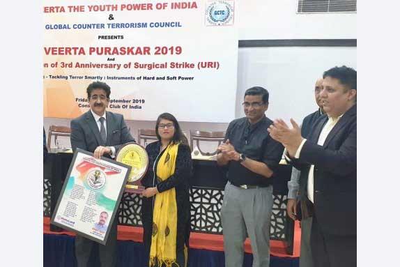 Veerta Purskar To Sandeep Marwah by GCTC