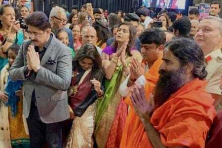 Sandeep Marwah At Navratras Celebration In London