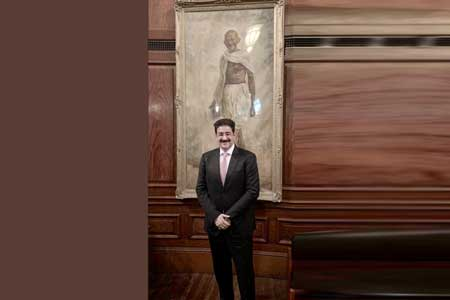 Chief Scout For India Sandeep Marwah Invited at Indian High Commission