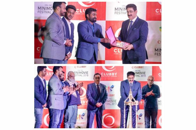 Sandeep Marwah Inaugurated Mini Movie Festival at Kochi