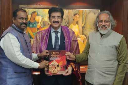 Sandeep Marwah On The Board of South India Film Festival