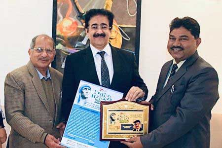 Mother Teresa Humanity Award For Sandeep Marwah
