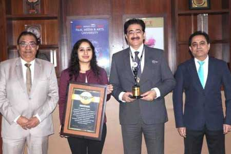 7th World Record of Sandeep Marwah Approved