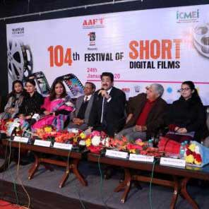 104th AAFT Festival of Short Digital Films Launched