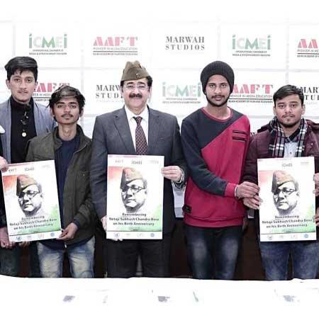 Neta Subhash Chandra Bose Remembered at AAFT