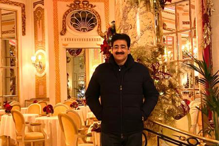 Sandeep Marwah Chief Scout For India Wished On New Year