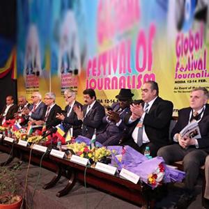 8th Global Festival of Journalism Inaugurated at Marwah Studios