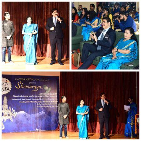 Sandeep Marwah Inaugurated Shivaargya Dance Presentation