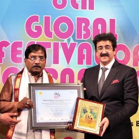 MP Jagannath Spoke to Members of International Journalism Centre