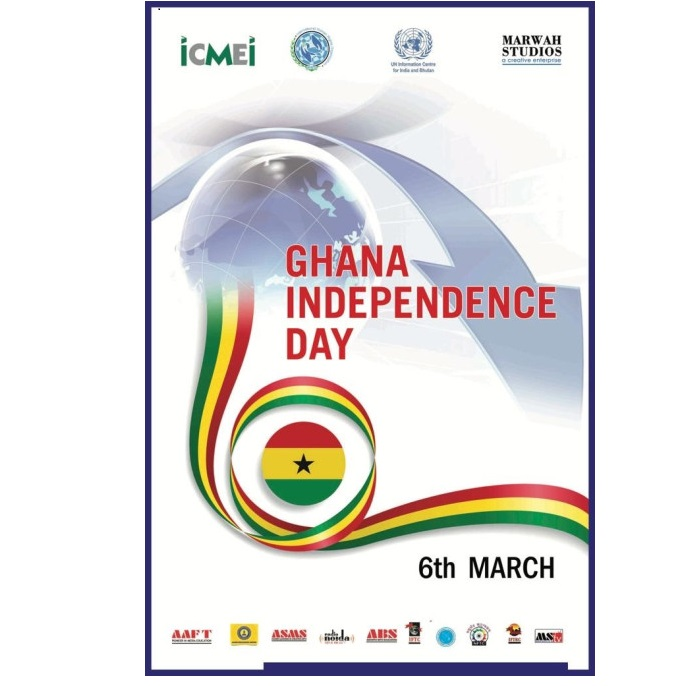 Indo Ghana Cultural Forum Wished On National Day