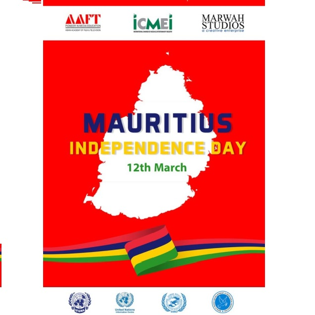 ICMEI Celebrated Mauritius National Day at AAFT