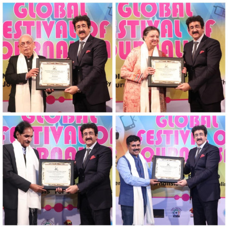 Second Edition of Mahatma Gandhi National Award For Journalism at GFJN 2020