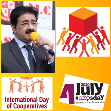 International Day of Cooperatives Observed at Marwah Studios