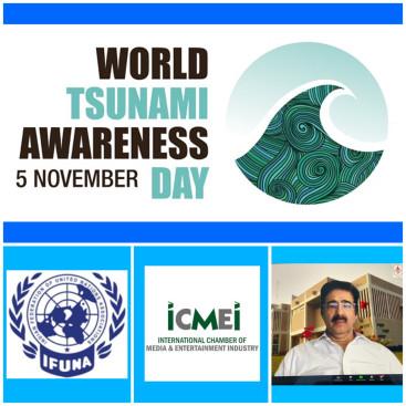 ICMEI Observed World Tsunami Awareness Day