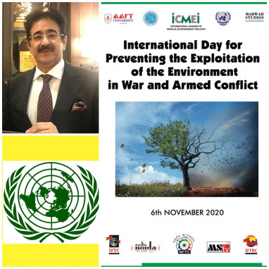 International Day For Preventing the Exploitation of The Environment in War and Armed Conflict Observed at ICMEI
