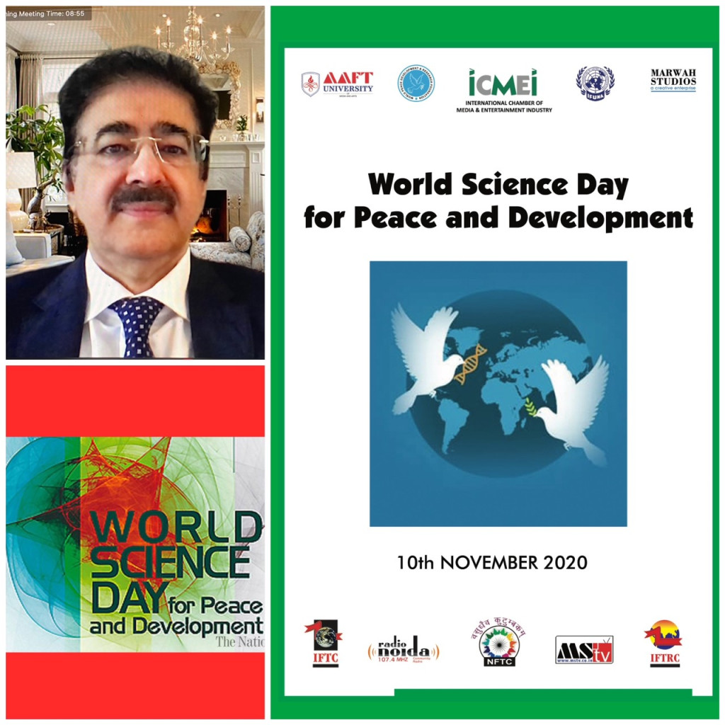 World Science Day for Peace and Development Celebrated at AAFT University
